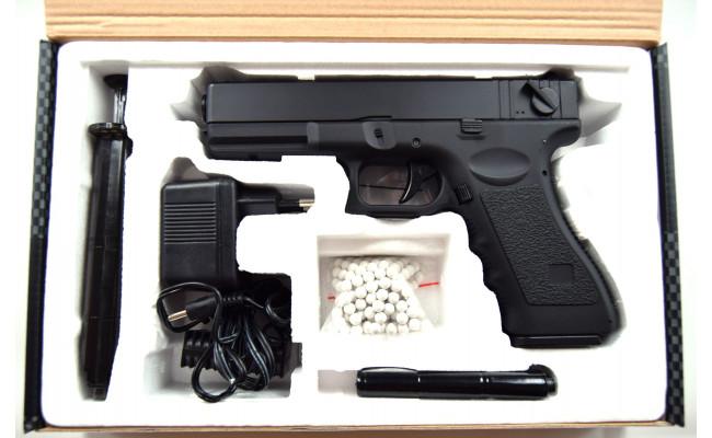 Страйкбольный пистолет CM030 Glock 18C (CYMA)