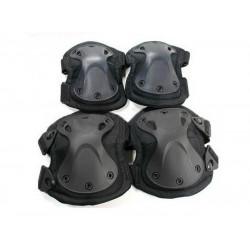 Наколенники+налокотники WS20152B X-SWAT Black