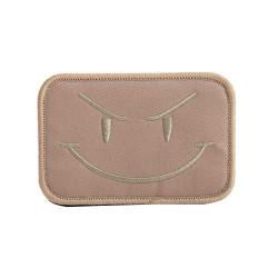 Шеврон Angry smile