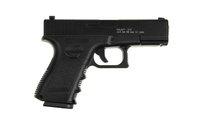 Страйкбольный пистолет G.15 Glock17 (Galaxy)