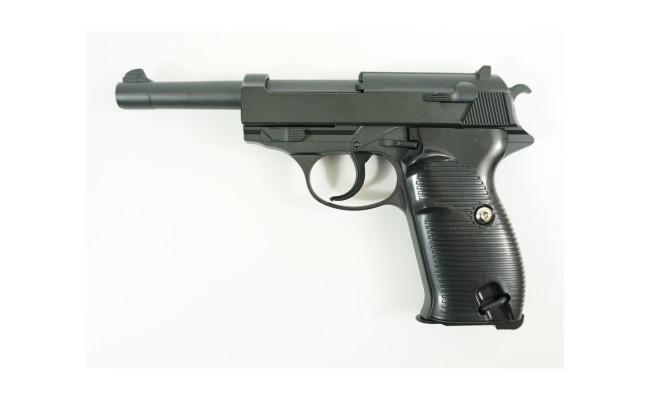 Страйкбольный пистолет G.21 Walther P38 (Galaxy)