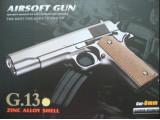 Страйкбольный пистолет G.13 COLT1911 Classic gold (Galaxy)