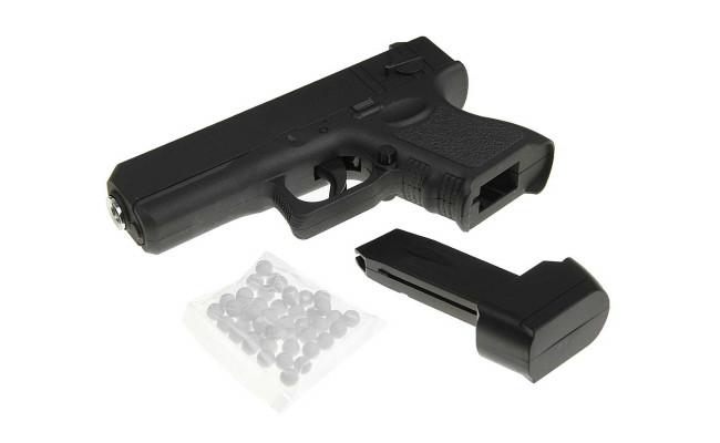 Страйкбольный пистолет G.16 Glock17 mini (Galaxy)