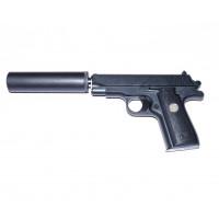 Страйкбольный пистолет  G.2A с глушителем (Galaxy)