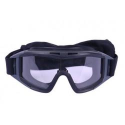 Защитная маска со стеклом для глаз Desert Locust Black