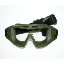 Защитная маска со стеклом для глаз Desert Locust Olive