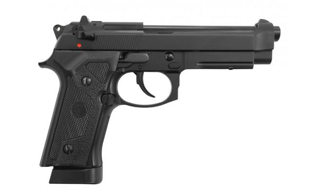 Страйкбольный пистолет M9VE, CO2, черный (KJW)