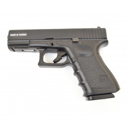 Страйкбольный пистолет Glock 32, Gas, Metal Slide, черный (KJW)