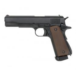 Страйкбольный пистолет Colt 1911, CO2, чёрный (KJW)