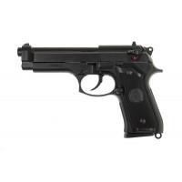 Страйкбольный пистолет  M9, Gas, черный (KJW)