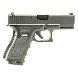 Страйкбольный пистолет Glock 23, Gas, пластик, черный (KJW)