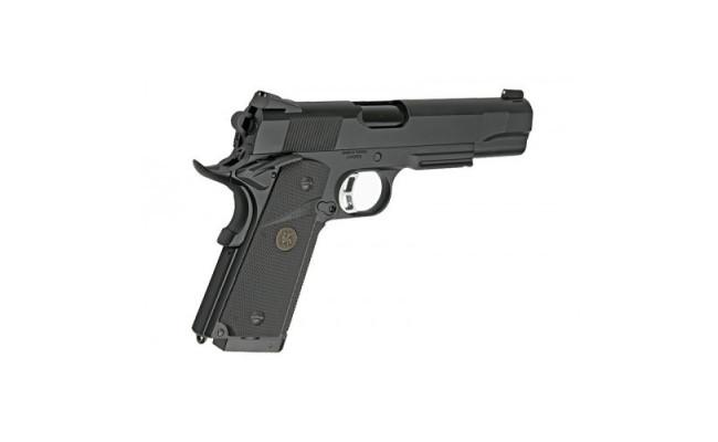 Страйкбольный пистолет Colt1911A1 MEU, CO2, черный (KJW)