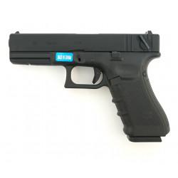 Страйкбольный пистолет Glock G18 Gen.4, Gas, черный (WE)