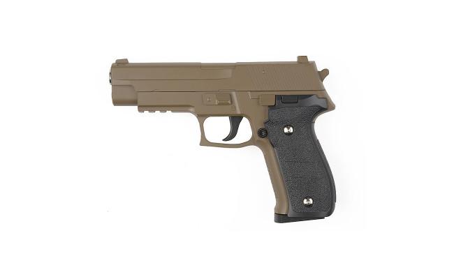 Страйкбольный пистолет G.26D SIG226 Desert (Galaxy)