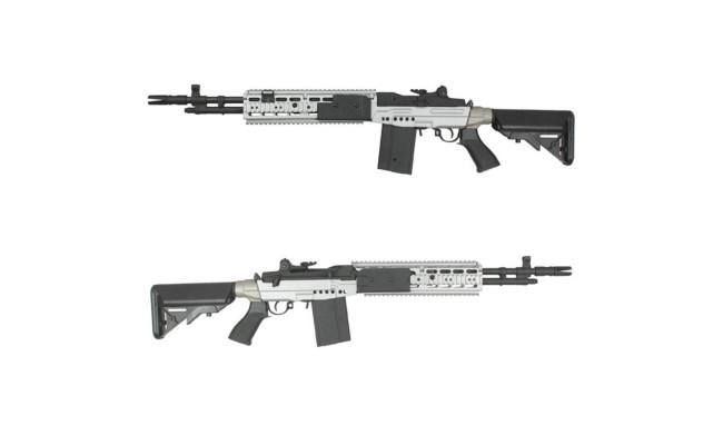 Страйкбольная винтовка CM032EBRSV M14EBR Silver (Cyma)