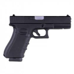Страйкбольный пистолет Glock G17, Gas, Metal Slide, черный (KJW)