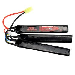 Аккумулятор 1200mah 11.1V 20C 3x(126x20x6)мм (Storm Power)
