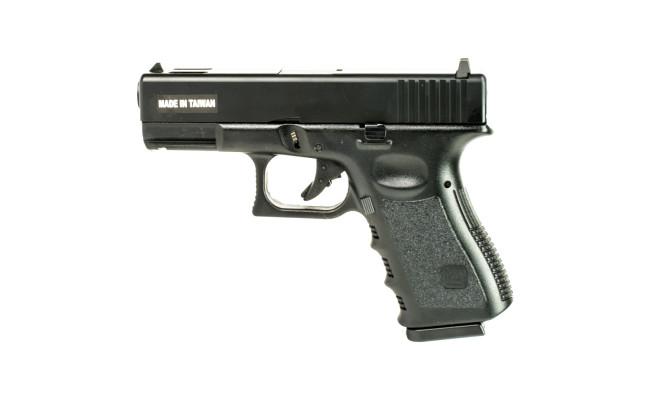 Страйкбольный пистолет Glock 32, Gas, пластик, чёрный (KJW)