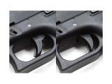 Страйкбольный пистолет Glock G18, CO2, черный (KJW)