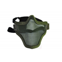 Маска защитная сетчатая на лицо HY023OD, олива (Cyma)
