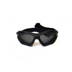 Очки защитный сетчатые HY-041, черные (Cyma)