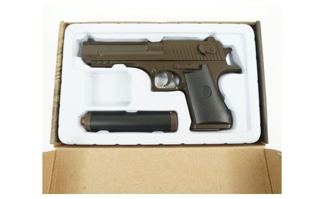 Страйкбольный пистолет Desert Eagle с глушителем (Smart)