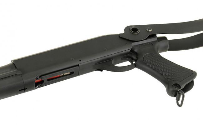Страйкбольный дробовик CM352 Remington M870 compact складной приклад (CYMA)