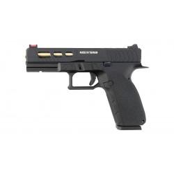 Страйкбольный пистолет CZ KP-13C , Gas, черный (KJW)