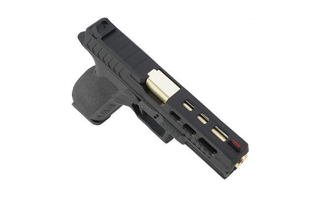Страйкбольный пистолет CZ KP-13C , CO2, черный (KJW)