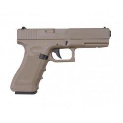 Страйкбольный пистолет CM030 TN Glock 18C (CYMA)
