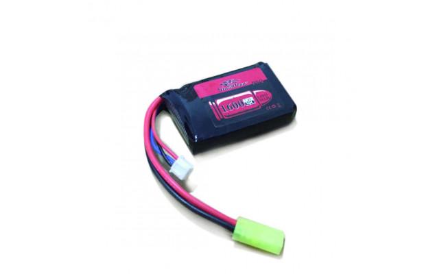 Аккумулятор 1600mah 7.4V 30C 66x42x16мм (Storm Power)