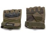 Перчатки безпалые олива Gongtex XL
