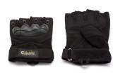Перчатки безпалые черные Gongtex L