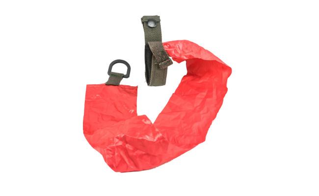 """Подсумок """"сигнальный"""" с красной лентой, олива,50мм"""