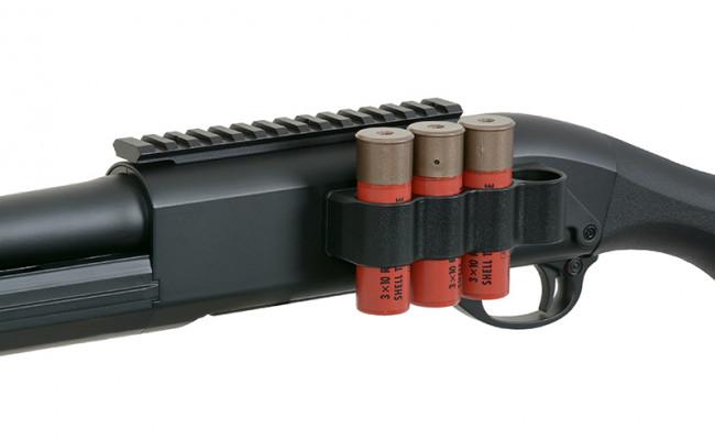 Страйкбольный дробовик CM357MBK Remington M870 MAGPUL металл BK (CYMA)