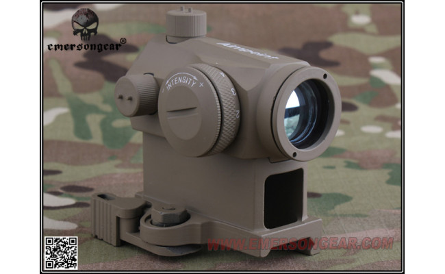 Коллиматорный прицел T1 Red Dot Scope w /QD Mount/CB (EmersonGear)