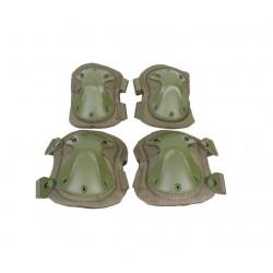 Наколенники + налокотники Tactical-Takpad/OD (EmersonGear)