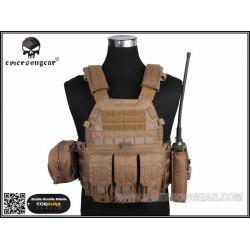 Разгрузочный жилет LBT6094A style Plate Carrier w 3 pouches/CB500D (EmersonGear)