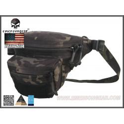 Сумка Multifuntional Detective waistbag/Multicam Black (EmersonGear)