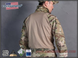 Тактическая рубашка blue label G3 Combat Shirt/Muticam-XL (EmersonGear)