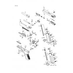 Заправочный клапан для магазина / KJW KP-23 Filling Valve #72