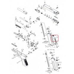 Уплотнительное кольцо впускного клапана магазина для KP-17 (KJW)