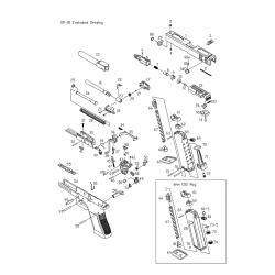 Прокалыватель баллона с уплотнительным кольцом / KJW KP-18 Capsule Cap #(73-+73-5)