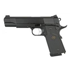Страйкбольный пистолет Colt1911A1 MEU, Gas, черный (KJW)