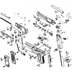 Возвратнаые пружины газовой камеры для M9 (KJW)
