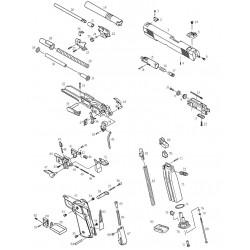 Штифт газовой камеры для KP-05 (KJW)
