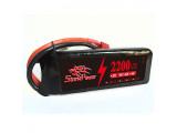 Аккумулятор 2200mah 7.4V 20C 101x35x18мм (Storm Power)