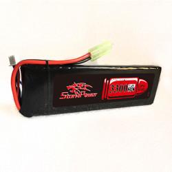 Аккумулятор 3300mah 7.4V 20C 136x43x13,5мм (Storm Power)