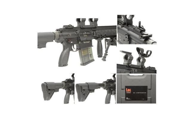 Страйкбольный автомат G28 AEG DX (BK) (VFC)