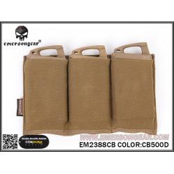 Тройно подсумок для магазинов Triple M4 Pouch/CB (EmersonGear)